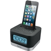 "IHOME IPL8B iPhone/iPod Dual Charging Stereo FM Clock Radio with Lightningâ""¢ Dock & Play"