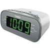 TIMEX T231WY2 AM/FM Dual-Alarm Clock Radio with Digital Tuning (White)