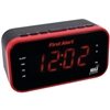 FIRST ALERT SFA150 AM/FM Weather Band Clock Radio with Weather Alert