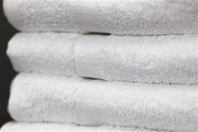 Deluxe Hotel Hand Towels 16x27 3 lb  100% Ringspun Cotton with Cam Border