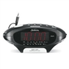 Sunbeam MP3 Ready AM/FM Alarm Clock Radio, Black