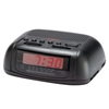 Sunbeam AM/FM Alarm Clock Radio, Black - Casepack 18