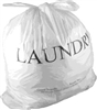 18 x 19 + 4 Laundry Bags - Draw Tape