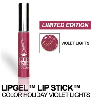LIP INK LipGel Lipstick - Plums - Holiday Violet Lights
