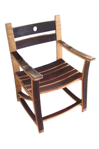 Wine Barrel Stave Rocker Or Chair