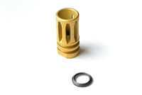 Tactical AR-15 A2 Birdcage Muzzle Device 1/2x28