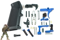 A&A Complete Lower Parts Kit w/Black FCG and Grip in your choice of color