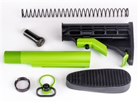 AR-10 6 Position Stock Kit w/3.8 OZ Buffer-Mil Spec-COLOR CHOICE