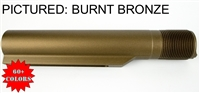 Color AR-15 6 position carbine Milspec Buffer Tube