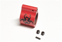 Color Biohazard Steel Low Profile .750 Gas Block