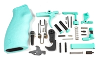 Robins Egg Blue Complete Lower Parts Kit with Ergo Overmolded Grip