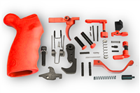 USMC RedComplete Lower Parts Kit with Ergo Overmolded Grip