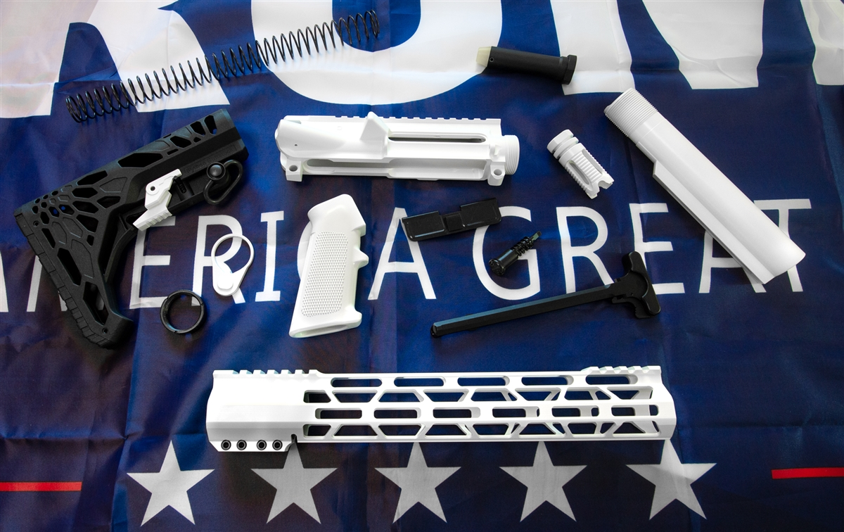 AR 15 Build Kit Available in 25+ Colors