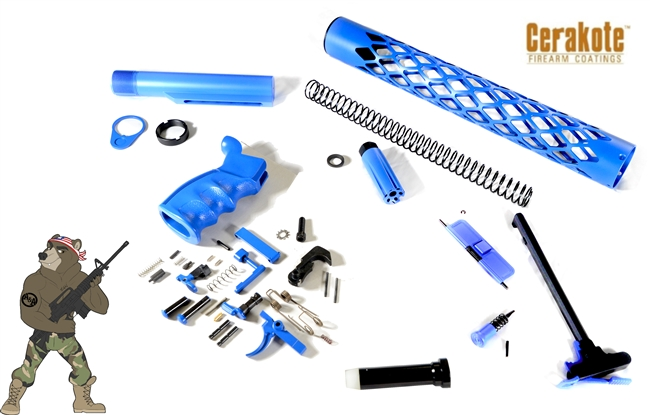 "2020 Builders Kit with 15"" Handguard - Available in several colors"