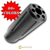 INFINITE5/8-24 RH Halestorm Spiral Pulse Fluted Muzzle Brake -  (COLOR CHOICE)