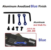 A&A Anti-Rotation Pin Set - Blue