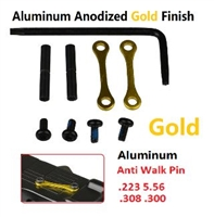 A&A Anti-Rotation Pin Set - Gold