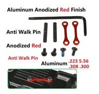 A&A Anti-Rotation Pin Set - Red