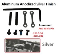 A&A Anti-Rotation Pin Set - Silver