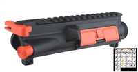 A&A AR-15 UPPER RECEIVER ASSEMBLY-COLOR CHOICE