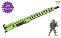 A&A Zombie Stalker Gen 2 Upper Assembly 5.56/.223 (No BCG) - Shown here in Zombie Green
