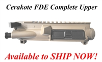 Magpul FDE Anchor Harvey AR15 Assembled Upper Receiver with Ambidextrous Charging Handle