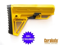 Alpha Stock - Color Options - Shown here in Corvette Yellow