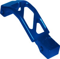 BLUE ANODIZED - TIMBER CREEK AR OVERSIZED TRIGGER GUARD