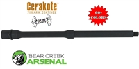 "BCA AR-15 BARREL, 14.5"" 4150 -COLOR CHOICE- GOVERMENT PROFILE BARREL, .223 WYLDE, CARBINE LENGTH GAS SYSTEM W/ 1:8 TWIST"
