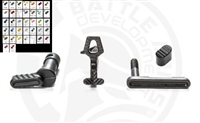 Battle Arms Development ENHANCED LOWER PARTS KIT - BAD-LPK-PK3-COLOR CHOICE