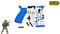 Bright Blue Lower Parts Kit with New! Blue ERGO Grip