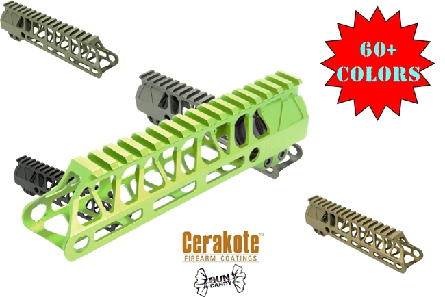 TIMBER CREEK ENFORCER 7 INCH HAND GUARD-MLOK Cerakote or Gun Candy COLOR CHOICE