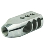 1/2x28 .223 5.56 TANKER MUZZLE BRAKE, STAINLESS STEEL