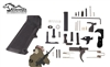 Anderson Lower Parts Kit with Pistol Grip; Milspec, AR15 with Black Speed Hammer