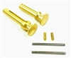 EXTENDED TAKEDOWN PIN SET AR-15 .223 / 5.56 ALUMINUM GOLD