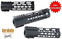 "A&A CARBINE 7"" Free Float Slim Light Weight Keymod Handguard"