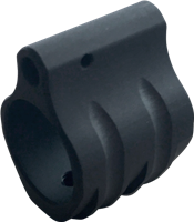 TIMBER CREEK LOW PROFILE .750 DIAMETER GAS BLOCK-BLACK