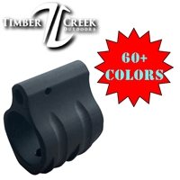 TIMBER CREEK LOW PROFILE .750 DIAMETER GAS BLOCK-COLOR CHOICE