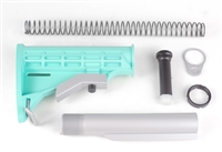 AR 15 M4 Complete Stock Kit With COLOR OPTIONS