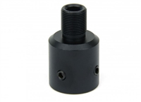 "RUGER 10/22 1/2""X28 THREAD ADAPTER/ALUMINUM/BLACK"