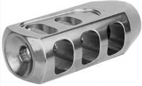 5/8X24 (.308) TANKER MUZZLE BRAKE, STAINLESS STEEL