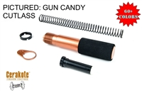 Pistol Buffer Tube Kit w/Foam Sleeve -COLOR OPTIONS