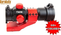 1X30 DUAL ILL. RED/GREEN DOT SIGHT-COLOR OPTIONS- WITH CANTILEVER MOUNT