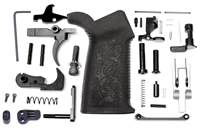 Spike's Tactical Pro Grip Lower Parts Kit with FCG - Black
