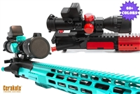 Sniper Precision Explorer 4x32 Scope with Quick Detach Scope Mount - Color Choice