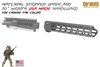 Stripped Upper Receiver with AIM 10 inch WRAITH Handguard-COLOR CHOICE