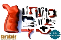 Smith&Wesson Red Ambidextrous Complete Lower Parts Kit