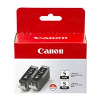 Canon PGI-5BK ChromaLife 100 Black Ink Cartridges 0628B009 Pack Of 2 Bstock