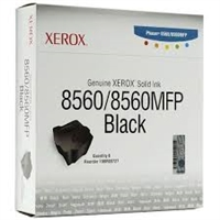 Genuine Xerox 108R00727 Black Solid Ink Sticks, Pack Of 6