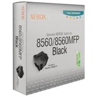 Genuine Xerox 108R00727 Black Solid Ink Sticks, Pack Of 6 Bstock
